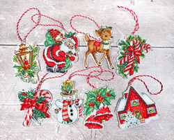 Borduurpakket Christmas Toys Kit nr.1 - Leti Stitch