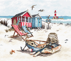 Borduurpakket Beach - Leti Stitch