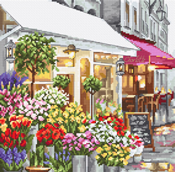 Borduurpakket Flower Shop - Leti Stitch