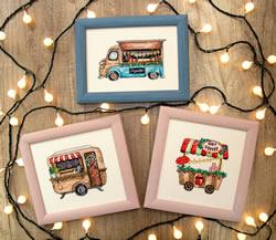 Borduurpakket Happy Holidays - Leti Stitch