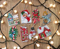 Borduurpakket Christmas Toys Kit nr. 2 - Leti Stitch
