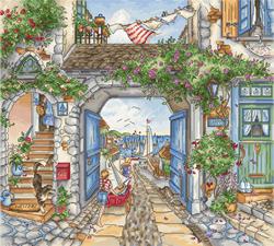 Borduurpakket To The Harbor - Leti Stitch