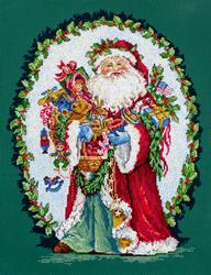 Borduurpakket Jolly Saint Nick - Leti Stitch