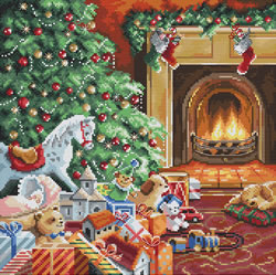 Borduurpakket Cozy Christmas - Leti Stitch