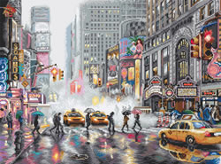 Borduurpakket New York / Range: Cities - Leti Stitch