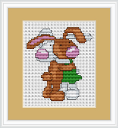 Borduurpakket Bunnies - Luca-S