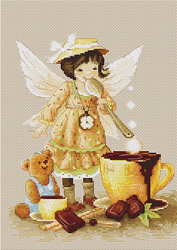 Borduurpakket Chocolate Fairy - Luca-S