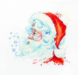 Cross stitch kit Santa Claus - Borduurpakket