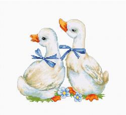 Borduurpakket Geese - Luca-S