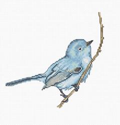 Borduurpakket Bluebird - Luca-S