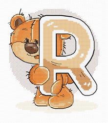 Borduurpakket Letter R - Luca-S