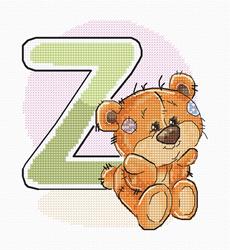Borduurpakket Letter Z - Luca-S