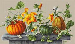 Borduurpakket Pumpkins - Luca-S