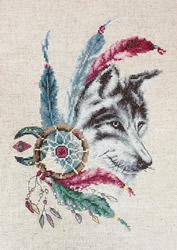 Borduurpakket The Wolf - Luca-S