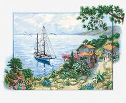 Borduurpakket Seascape  - Luca-S