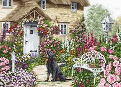 Cross stitch kit The Cottage Garden - Luca-S