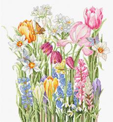 Borduurpakket March Bouquet - Luca-S