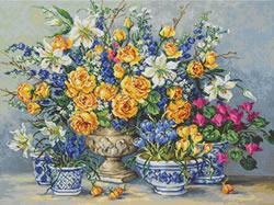 Borduurpakket From Gabrielle's Garden - Luca-S