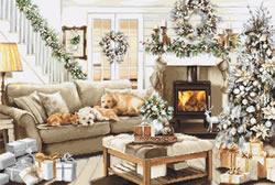 Borduurpakket Dreaming of a White Christmas - Luca-S