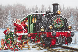 Borduurpakket Santa's Express - Luca-S