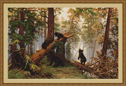 Borduurpakket Morning in a Pine Forest - Luca-S