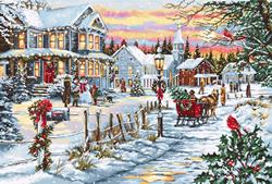 Borduurpakket Christmas Eve - Luca-S