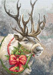 Borduurpakket Christmas Deer - Luca-S