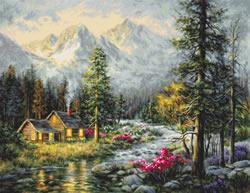 Borduurpakket Camper's Cabin - Luca-S