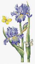 Borduurpakket May Iris - Luca-S