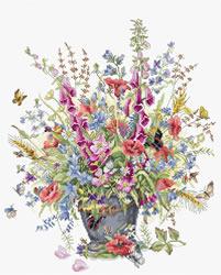Borduurpakket June Bouquet - Luca-S
