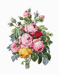 Borduurpakket Roses - Luca-S