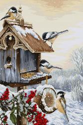 Borduurpakket Bird House - Luca-S