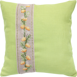 Kussenpakket Cushion Flowers Green - Luca-S