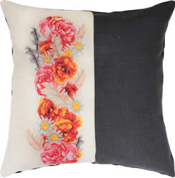 Borduurpakket Pillow Roses - Luca-S