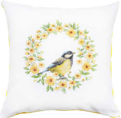 Kussenpakket Bird Yellow - Luca-S