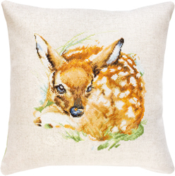 Cross stitch kit Pillow Deer - Borduurpakket