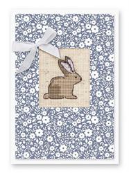 Borduurpakket Postcard Bunny - Luca-S