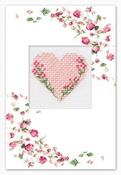 Cross stitch kit Postcard - Borduurpakket