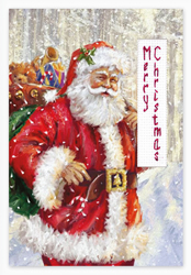Cross stitch kit Postcard - Christmas - Luca-S