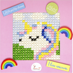 Borduurpakket My First Embroidery - Unicorn - Luca-S
