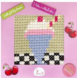 Borduurpakket My First Embroidery - Milkshake - Luca-S