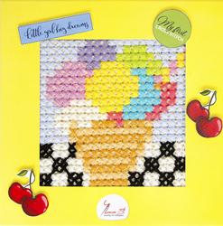 Borduurpakket My First Embroidery - Ice-cream - Luca-S