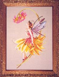 Borduurpatroon The Petal Fairy - Mirabilia Designs