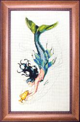 Borduurpatroon Mediterranean Mermaid - Mirabilia Designs