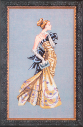 Borduurpatroon Lady Alexandra - Mirabilia Designs