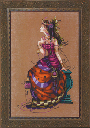 Borduurpatroon The Gypsy Queen - Mirabilia Designs