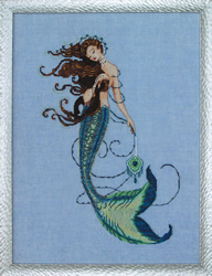 Borduurpatroon Renaissance Mermaid - Mirabilia Designs