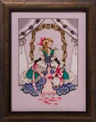 Borduurpatroon Alice - Mirabilia Designs