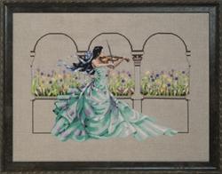 Borduurpatroon Garden Prelude - Mirabilia Designs