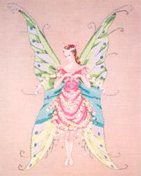 Borduurpatroon Fairy Roses - Mirabilia Designs